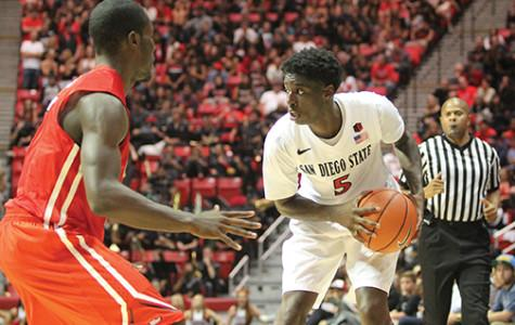 Aztecs down 18-17 against Utah at halftime