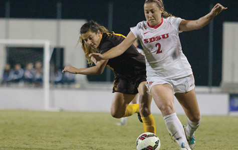 SDSU women's soccer travels to Arizona, loses Gulczynski to ACL injury