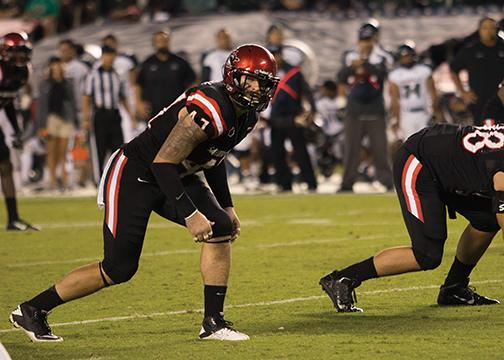 Aztecs bruise title hopes with Boise loss
