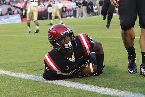 Aztec football shows character in tight game