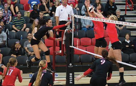 SDSU tops Cowgirls, drops match to Rams