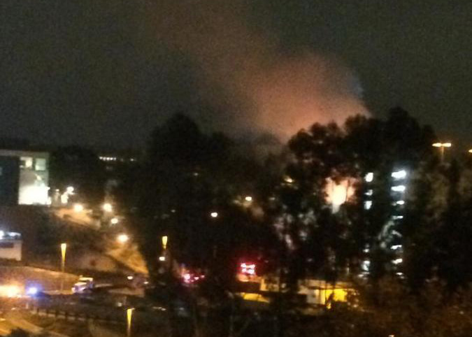 Two fire departments respond to SDSU chill plant fire