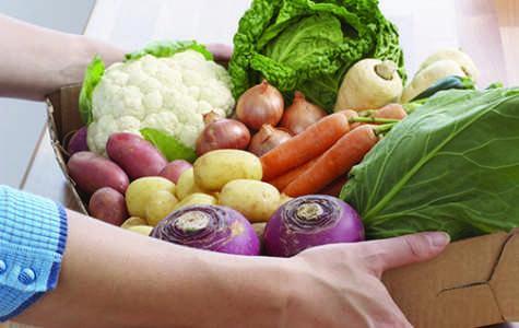 Slow Food produces fresh produce
