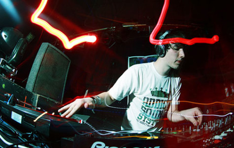 EDM artist walks to his own beat