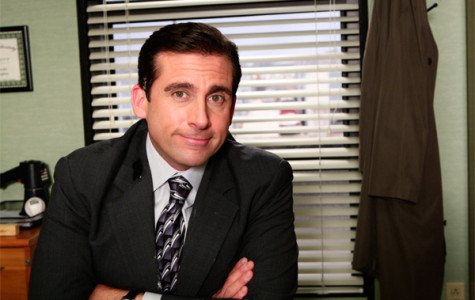 The Office's Michael Scott depicts the stages of midterms