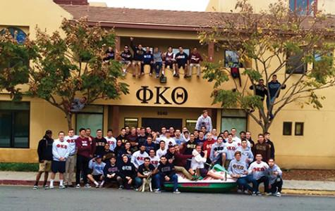 Fraternity breaks SDSU record for community service hours