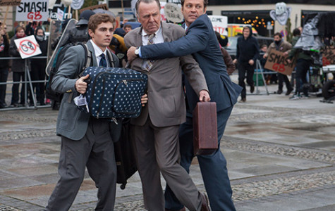 Vaughn returns to the big screen in typical fashion with 'Unfinished Business'