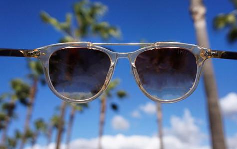 Sunglasses skate into San Diego