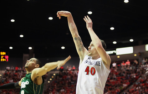 SDSU basketball down valuable shooter with Matt Shrigley injury