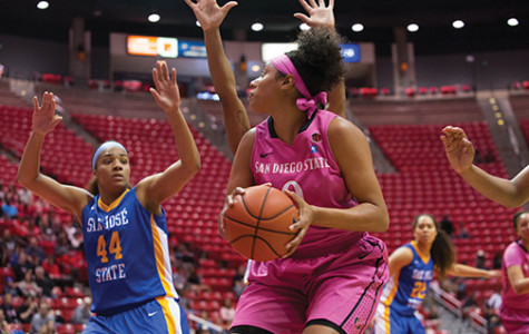 Women's hoops tops Spartans