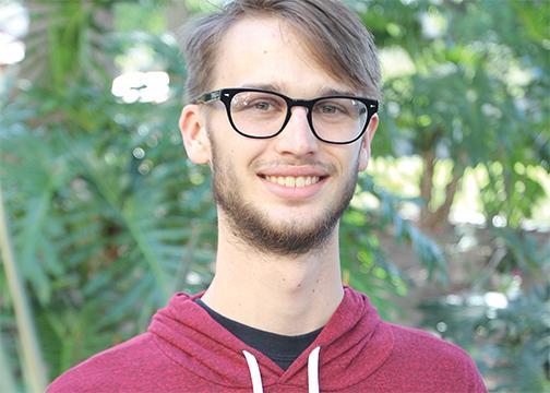 A.S. presidential candidate: Jeremy Zaida