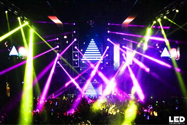 LED celebrates fourth birthday in San Diego