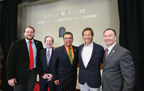 Leadership center renamed The Jeffrey W. Glazer Center