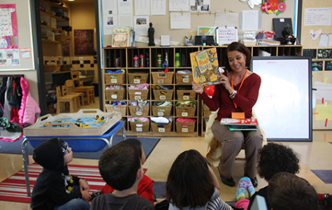 Reading at SDSU Children's Center