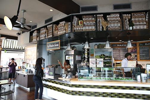 Restaurants please with green menus