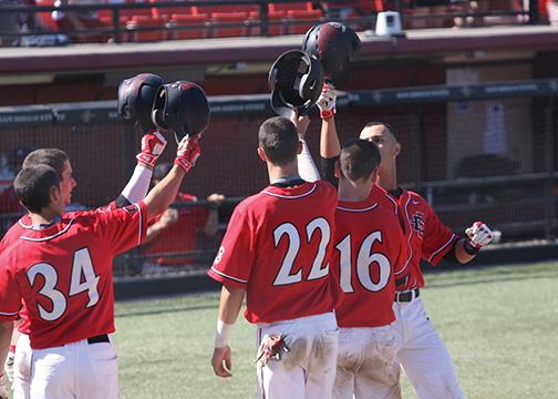 Aztecs dominate Falcons in weekend sweep