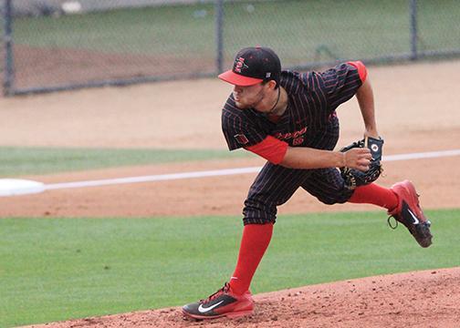 SDSU baseball pitcher Bubba Derby