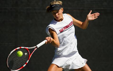 No. 65 SDSU women's tennis falls to No. 9 Cal