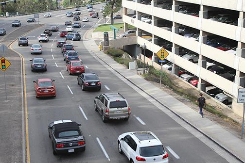 Traffic, lack of campus involvement among issues commuters to SDSU face