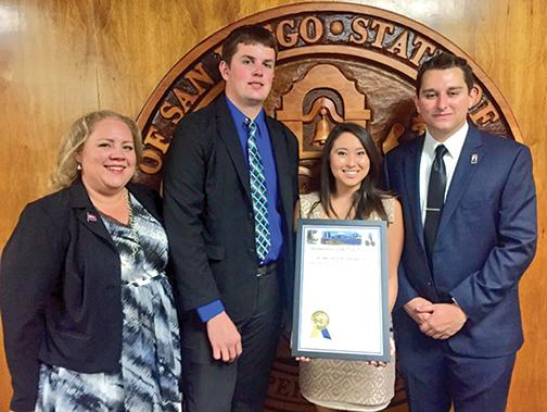 City, county honors KCR College Radio