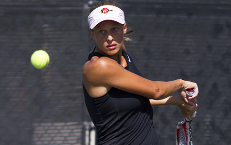 Aztecs ousted in first round of MW tourney