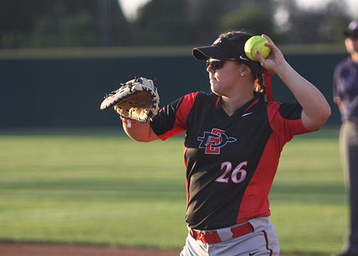 SDSU softball gets timely hitting, wins two of three against New Mexico