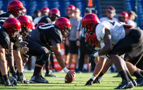 Offense struggles at SDSU football scrimmage