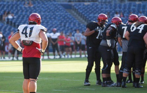 SDSU offense needs all the practice it can get before season opener