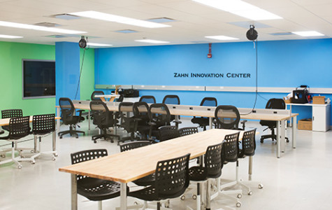 The Zahn Center's finds a new home inside the Education and Business Administration Building.