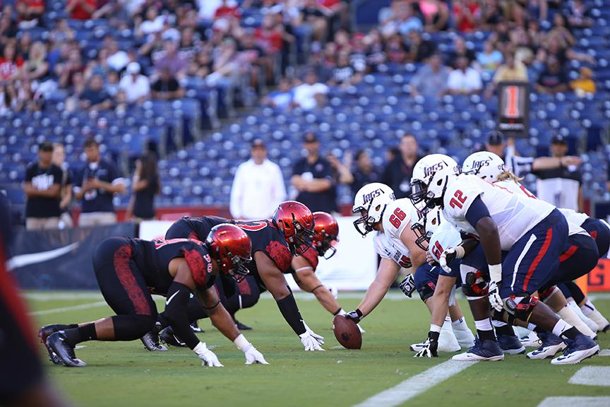 SDSU football continues to implode before halftime