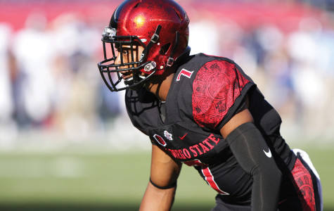 SDSU football's J.J. Whittaker providing security on and off the field
