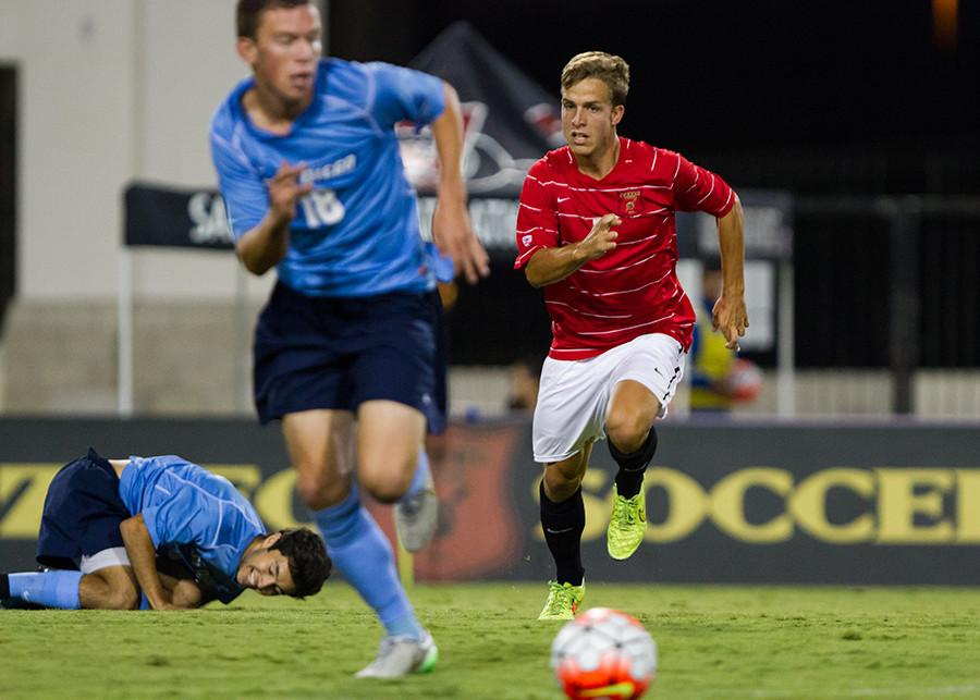 Pac 12 play starts for SDSU men's soccer against Washington, Oregon State