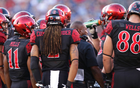 SDSU football has itself a little quarterback controversy