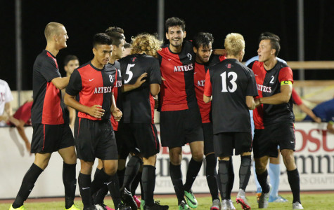 SDSU men's soccer grinds out 3-1 win over San Diego Christian