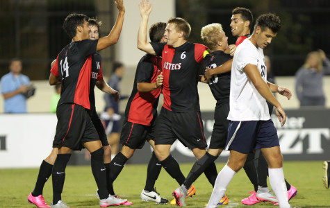 SDSU men's soccer improves to 3-0 with shutout win George Washington