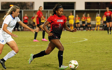 Aztec women's soccer surges past Nevada 4-0