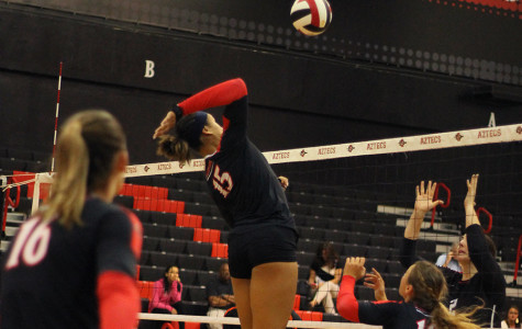 SDSU volleyball preps for Mountain West play against New Mexico, Air Force