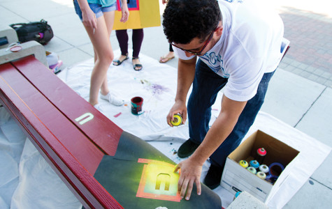 Arts Alive hosts interactive painting event