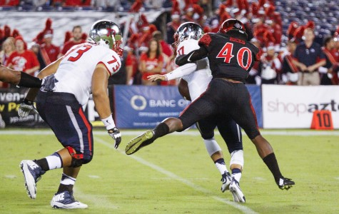SDSU football uses ground and pound to defeat Hawaii 28-14