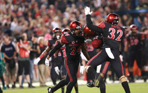 Aztec football crushes Utah State 48-14 for statement win