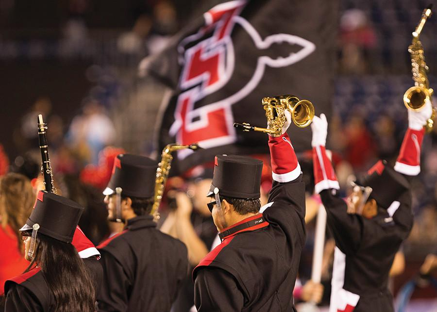 Marching+Aztecs+strive+toward+perfection+with+busy+schedule