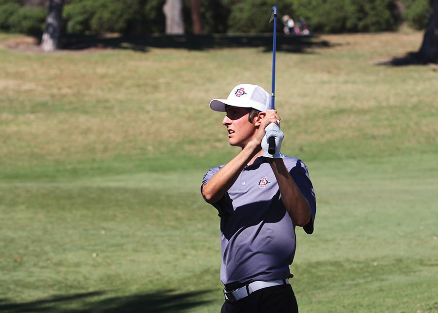 SDSU men's golf finishes 3rd in Carlsbad