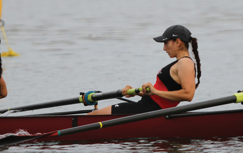 SDSU rower Megan Stone enjoys the busy life