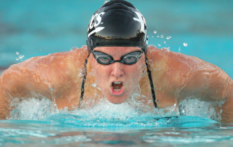It's 'Summer' and swimming year-round for SDSU's Harrison