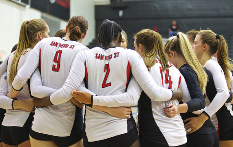 SDSU volleyball comeback falls just short against Air Force