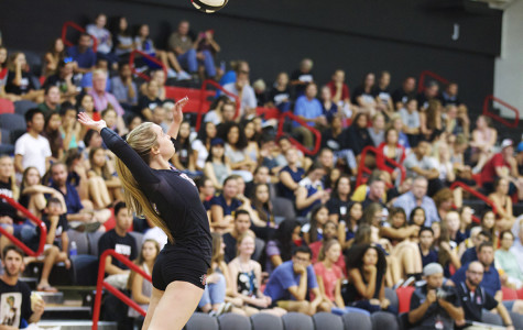 SDSU volleyball edged in thriller against Boise State