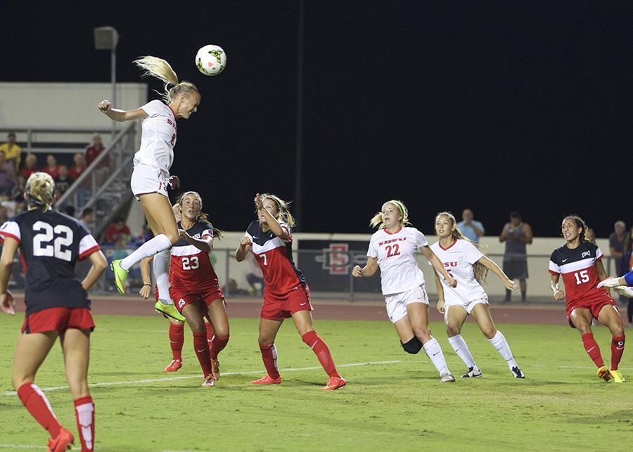 Final homestand of 2015 awaits SDSU women's soccer