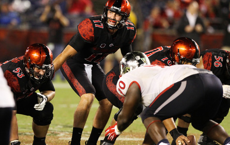 SDSU prepping for tough Utah State defense Friday night