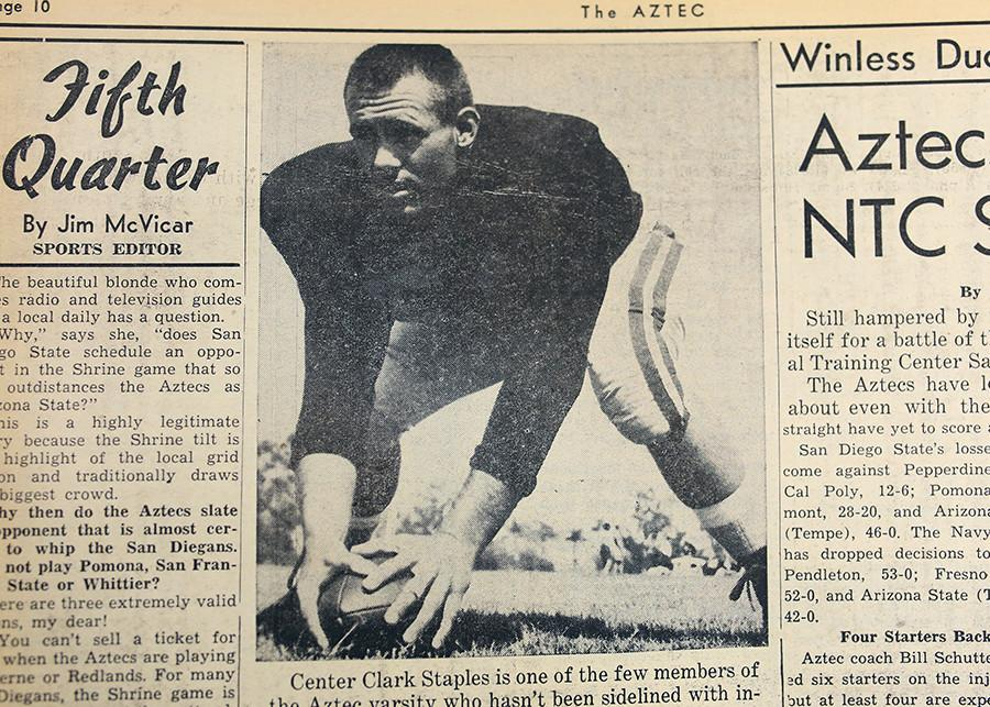 A look back at this week in Aztec sports history