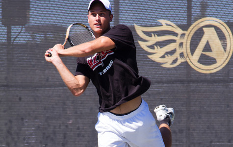 SDSU men's tennis misses an opportunity against No. 42 UC Santa Barbara with 4-2 loss